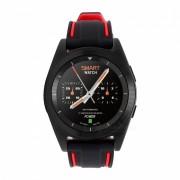 No.1 G6 Bluetooth Smart Watch con monitor de ritmo cardiaco - Negro? Rojo