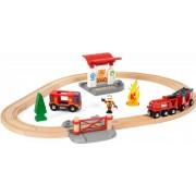Brio Set trenulet pompieri