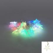 Kaemingk Kerstverlichting lichtsnoer Ster 30 gekleurd LED 2,9 meter