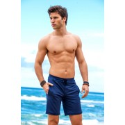Sauvage Workout Surf Shorts Navy