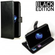 Celly Wallet Case iPhone 7 Black Edition