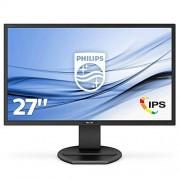 Philips 271B8QJEB/00 LCD-monitor (68,6 cm (27 inch), Full HD, 1920 x 1080 pixels, B-Line, 16:9, 5 ms) 27 inches IPS zwart