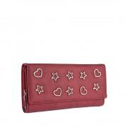 Dámská bordó peněženka 9422