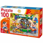 Puzzle 100 piese Animale Domestice