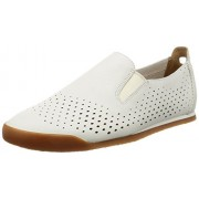 Clarks Men's Siddal Step White Leather Clogs and Mules - 8 UK/India (42 EU)