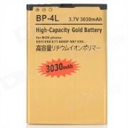 BP-4L de 3.7V 3030mAh Li-ion para Nokia 2680 Slide + Mas - Dorado