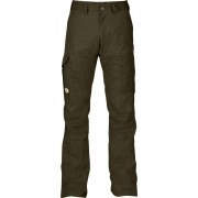 FjallRaven Karl Trousers - Dark Olive - Pantalons de Voyage 48