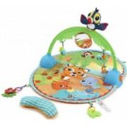 Saltea interactiva Little Tikes Baby 3in1 pentru bebelusi cu sunete si vibratii