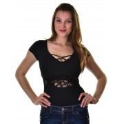 Mayo Chix női rövid ujjú body SKY m2019-1Sky0215/fekete