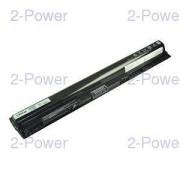 2-Power Laptopbatteri Dell 14.8V 2200mAh (GXVJ3)