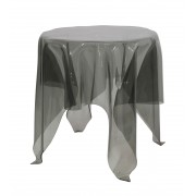 Replica Illusion side table-transparent black