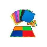 Kit 10 peças tatame 50 x 50 x 10mm-tapete infantil colorido