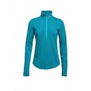 UNDER ARMOUR Damen Laufshirt Threadborne™ Streaker mit ½ Zip blau M