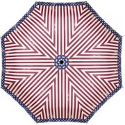 Doppler Umbrelă pliabilă mecanică de damă Carbonsteel Mini Slim Stars & Stripes 722651S01