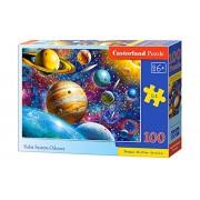Puzzle Odiseea Sistemului Solar, 100 piese