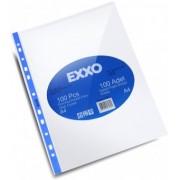 File protectie groase CRISTAL 80micr 100file/set Exxo