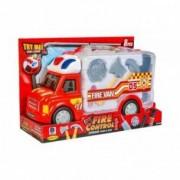 Kidz Corner Fire Control - Camion dei pompieri con luci e suoni