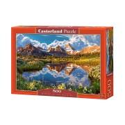 Castorland Pussel En pärla bland bergen 500 Bitar