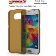 Promate Frost-S6 Premium Ultra-Slim Matte Finish Case - Gold