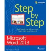 Microsoft Word 2013 Step by Step, Paperback