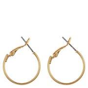 Snö Of Sweden Mystique Small Ring Earring, Plain Gold (20 mm)