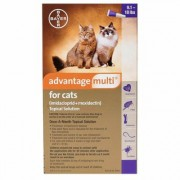 Advantage Multi (Purple) for Cats over 10lbs 6 Doses