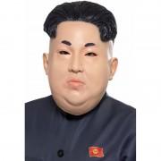 Smiffys Verkleedkleding latex masker Kim Jong Un voor volwassenen