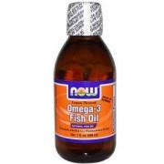 Омега 3 течни Лимон - Omega 3 Liquid 200 мл. - NOW FOODS, NF1659