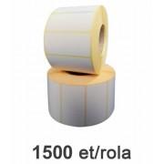 Role de etichete termice 50x25mm, 1500 et./rola