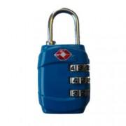 travelite TSA Zahlenschloss Blau