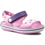 Szandál CROCS - Crocband Sandal Kids 12856 Carnation/Blue Violet
