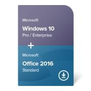 Windows 10 Pro / Enterprise + Office 2016 Standard digital certificate
