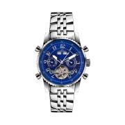 【84%OFF】230-H Air Professional Stahl Blau ラウンド ウォッチ ブルー ファッション > 腕時計~~メンズ 腕時計