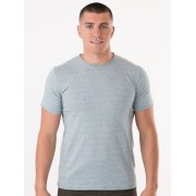 Modern Male Fine Striped Green Tee #14M