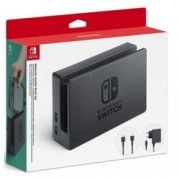 Зарядна станция за Nintendo Switch, черна