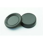 Achterdop+Bodydop (2 stuk): Nikon AI mount camera lens