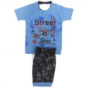 Kids Clothes Street Blue And Black