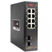 Суич ONV PoE IPS33108PF, 1000Mbps, 8x ports, 2x Gigabit SFP slots, PoE Ports