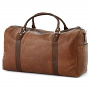 "Lucleon Sac ""Duffel bag"" marron & brun California"