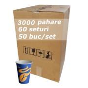 Pahar carton 7oz Tchibo bax 3000buc