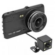 "Camera Auto DVR Home DVR200FHD, Vedere Fata/Spate, Full HD, 12MP, LCD 4"", WDR (Negru)"
