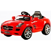 Baybee Officially Licensed Mercedes-Benz SLS AMG Battery Operated Car with R/C (Red)