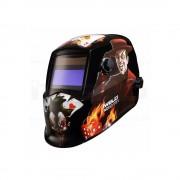 Masca automata pentru sudura IWELD NORED EYE 2 Poker-Skull