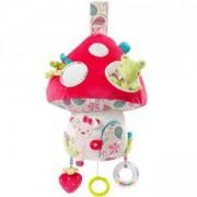 Детска музикална играчка с LED светлини - гъбка, babyFehn, 263569