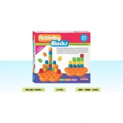 Playmate Activity Block 21 pcs Early Skill development blocks. Age 2 to 5 Years