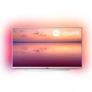 "Smart TV Philips 55PUS6804 55"" 4K Ultra HD LED WiFi Argintiu"
