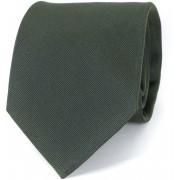 Profuomo Krawatte Army 16H - Dunkelgrün