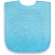 Slabbetje blauw 25x40cm