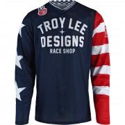 Troy Lee Designs Jersey Troy Lee Designs GP AIR Jersey Americana navy L blau
