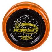 Duncan Toys Hornet Pro Looping Yo-Yo-Yo de plástico con Eje de rodamiento de Bolas y Espaciador de Aluminio, Naranja translúcido con Tapa Negra